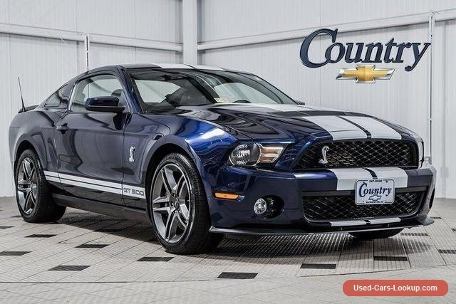 2010 Ford Mustang Shelby GT500 Coupe 2-Door #ford #mustang #forsale #unitedstates