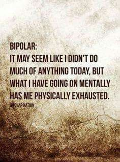This is true of ANY mental illness!