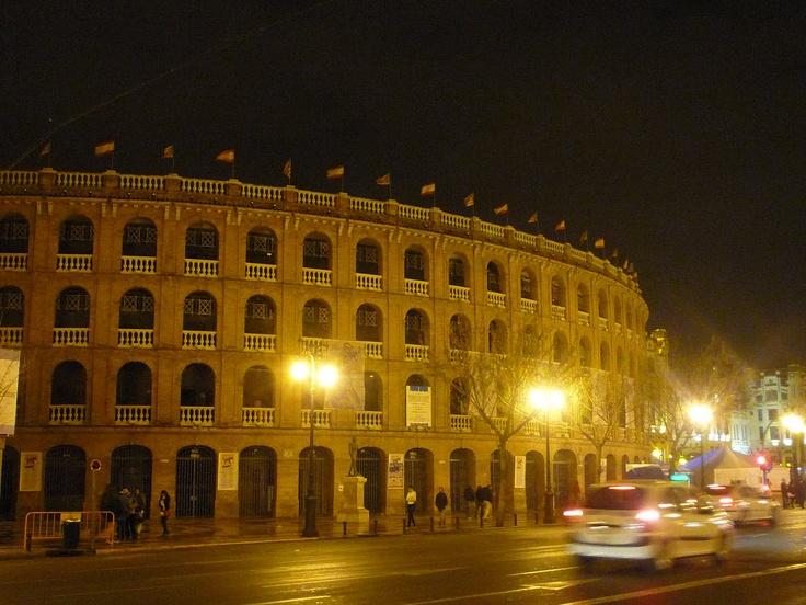 Plaza de toros - the bullring in Valencia