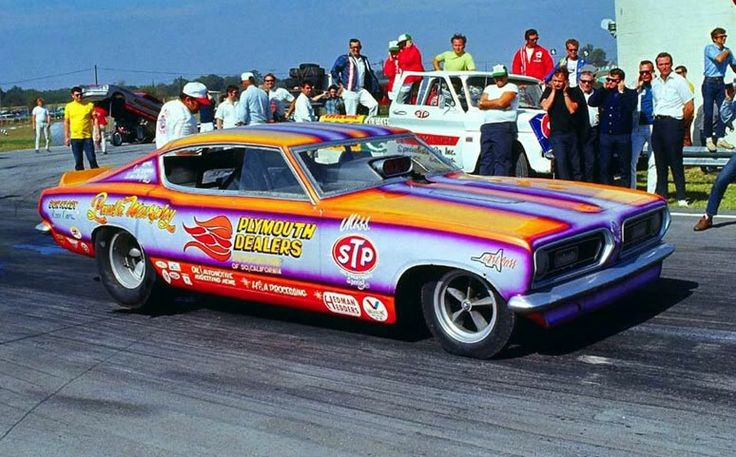 PLYMOUTH DEALERS of Southern California Barracuda Funny Car