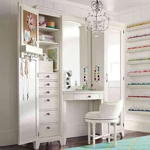 Mueble Tocador Maquillaje Dormitorio Vanity
