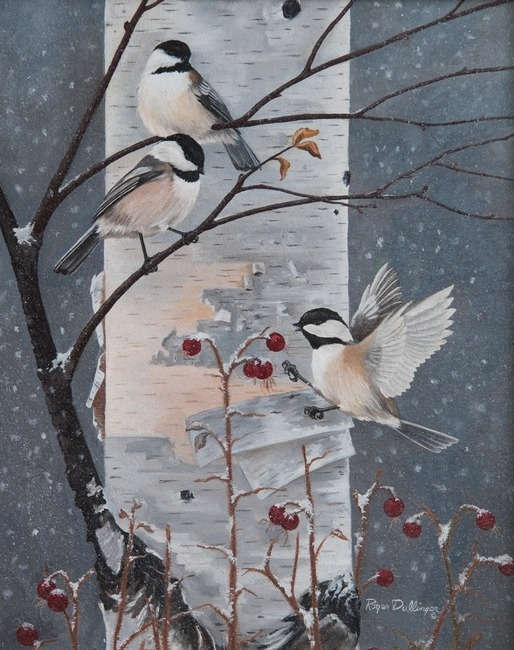 Winter Chickadees | Roger Dullinger More