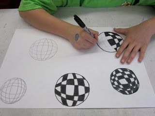 Think Create Art: Op Art-6th Grade
