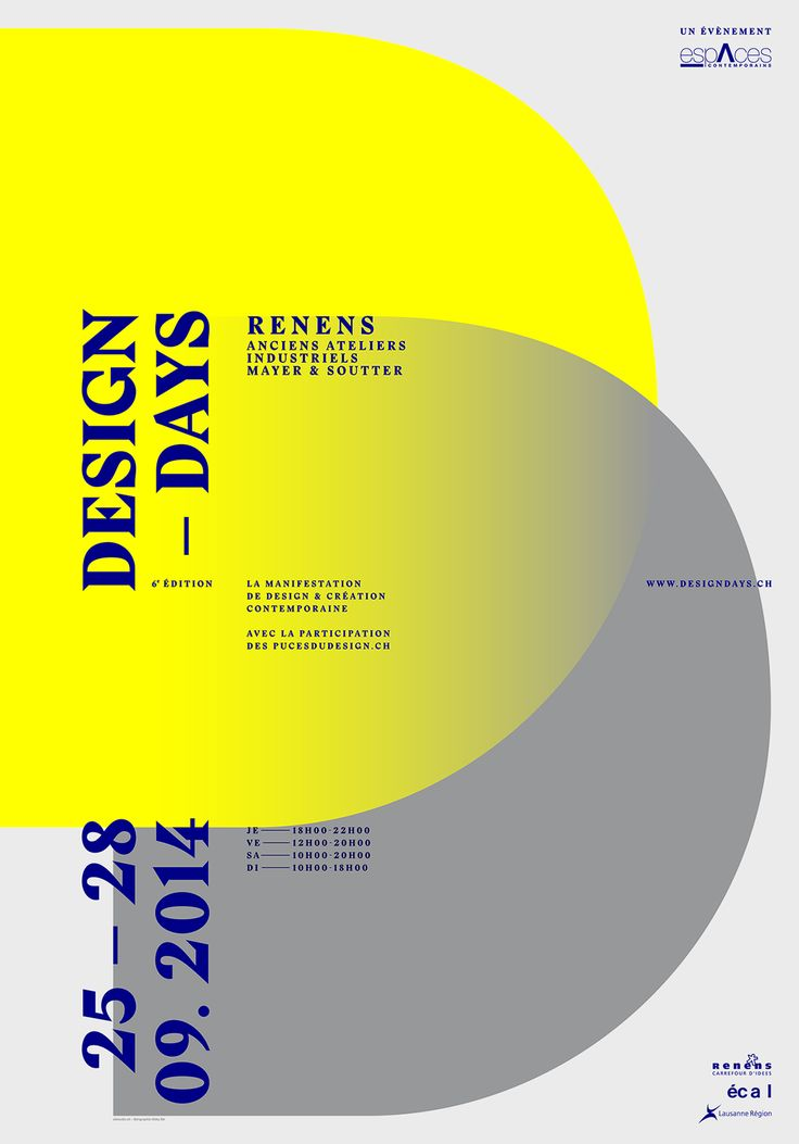DESIGN DAYS 2014 on Behance