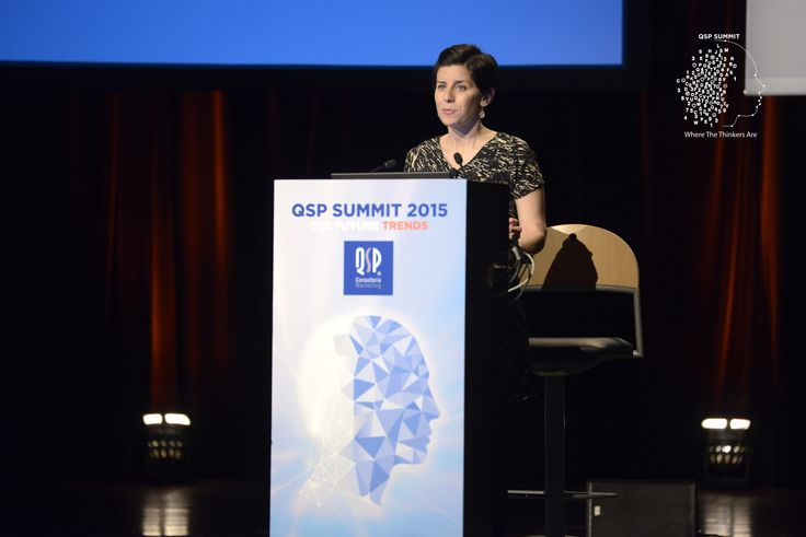 "Natalie Berg, Global Research Director at Planet Retail, presented the theme ""Future Retail"" in QSP Summit 2015. #qspsummit"