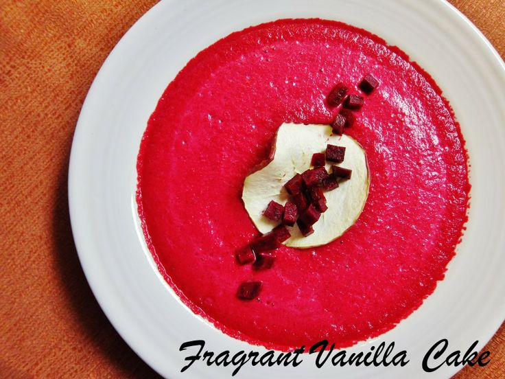 Winter Beet and Apple Soup | Healthy Living | Pinterest