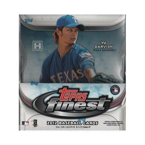 6-PACK MINI BOX : 2012 Topps Finest Baseball Factory Sealed Hobby MINI Box (Bryce Harper or Yu Darvish Rookies??? Autos???) by Topps. $69.87. 6-PACK MINI BOX : 2012 Topps Finest Baseball Factory Sealed Hobby MINI Box (Bryce Harper or Yu Darvish Rookies???  Autos???)  ...  Look for Bryce Harper Rookie Cards!! Look for Yu Darvish Autograph Cards!! Each box includes (1) sequentially-numbered On-Card Autographed Rookie Refractor and (1) sequentially-numbered Autographed ...