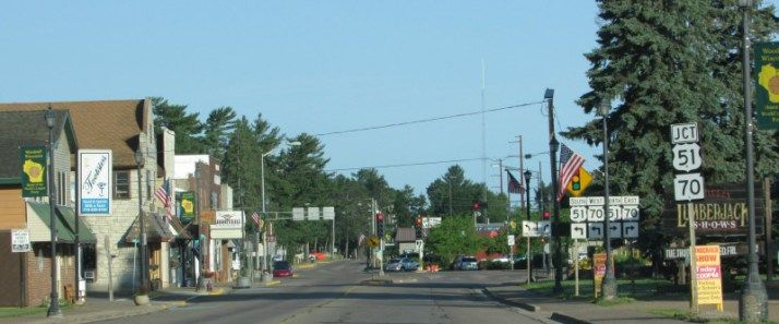 Downtown Woodruff