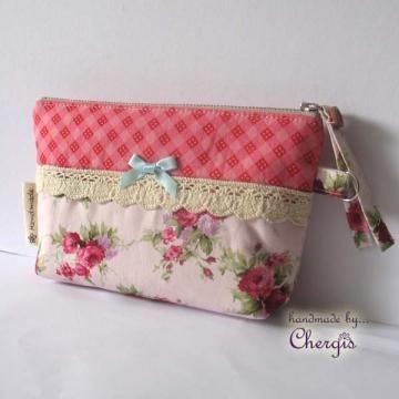 Zipper Pouch / Purse / cosmetic pouch - 121