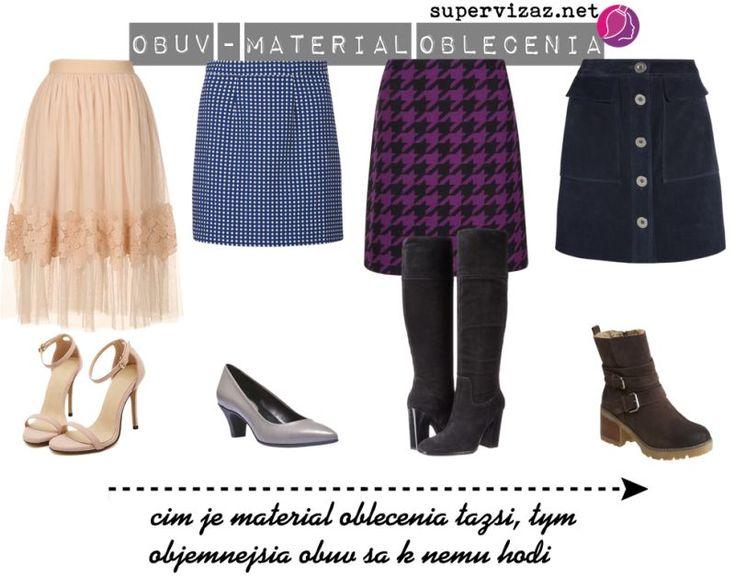 Ako vybrať obuv k oblečeniu - Supervizáž