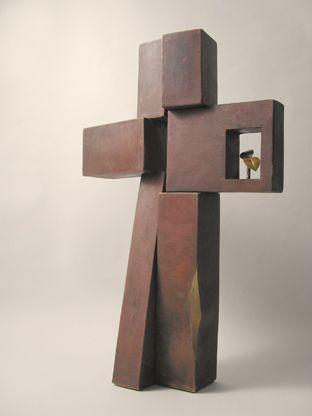 cross, copper
