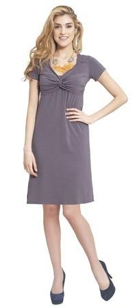 Milk Nursingwear Contemporary Knot Breastfeeding Dress