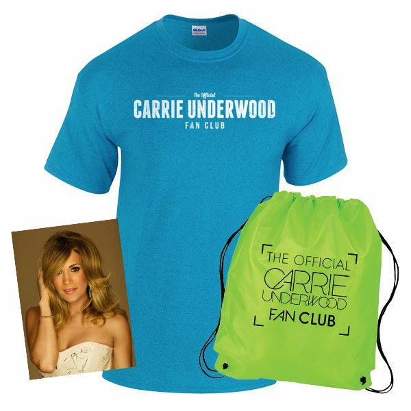 Carrie Underwood Fan Club Membership