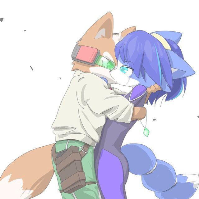Fox x Krystal ~ Starfox