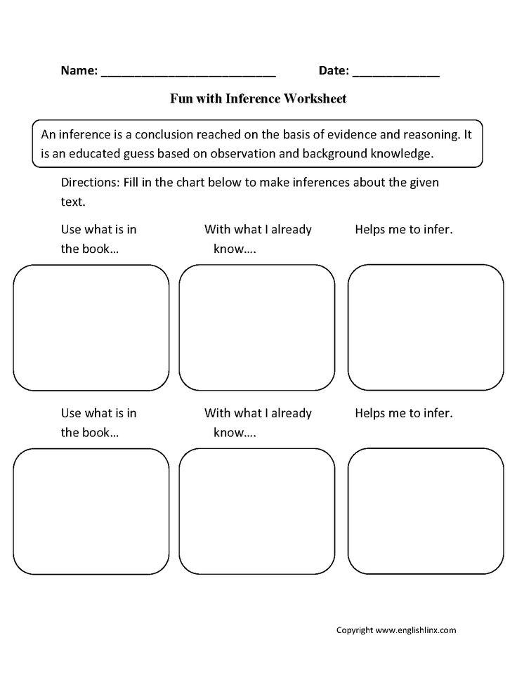 fun with inference worksheets inference lessons pinterest inference reading and worksheets. Black Bedroom Furniture Sets. Home Design Ideas