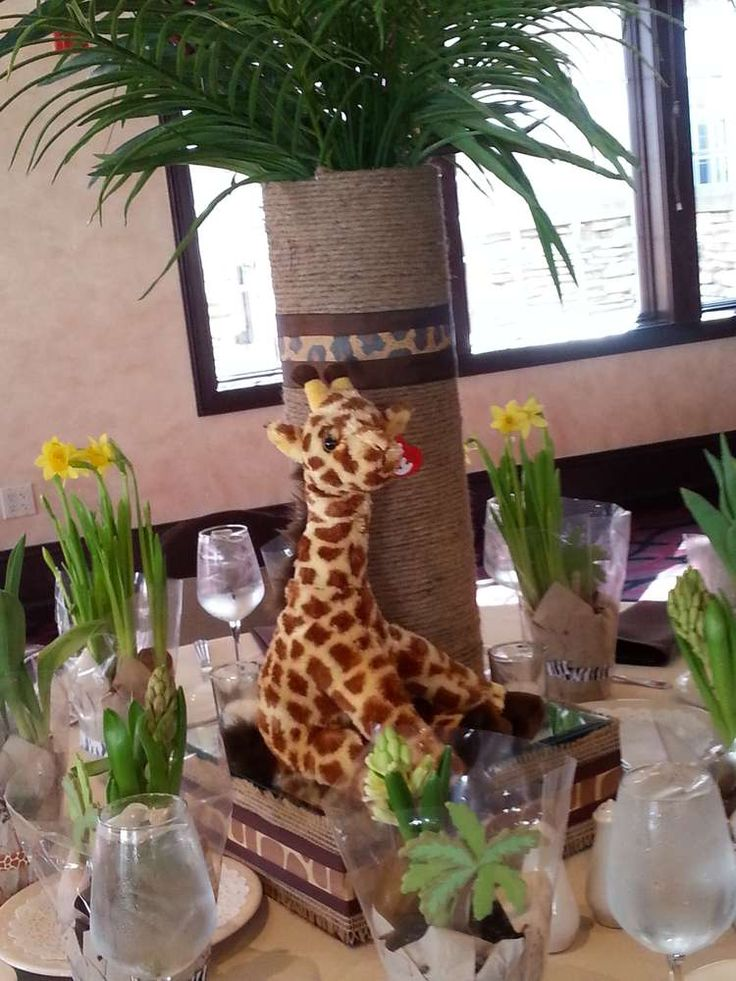Wild safari baby shower ideas