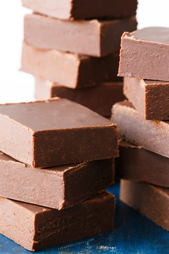 Old-Fashioned Chocolate Fudge recipe with an amazing velvety smooth texture.