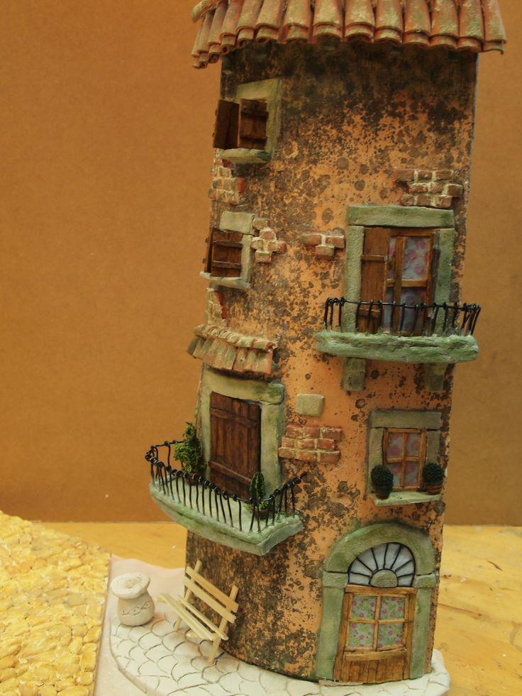 1000 images about tejas decoradas on pinterest roof for Casas con techo de teja