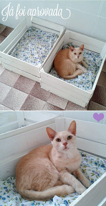 25 melhores ideias sobre camas de gato no pinterest for Cama para gatos