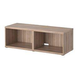 IKEA - BESTÅ, Banc TV, blanc, , Vous pouvez facilement dissimuler les câbles de la TV et tout autre équipement mais en les gardant à portée de main grâce aux ouvertures pratiquées au dos du banc TV.Vous pouvez choisir de poser le banc TV au sol ou de le fixer au mur pour libérer de la place.Si vous voulez organiser votre rangement, vous pouvez ajouter des aménagements intérieurs BESTÅ.Les pieds réglables permettent d'assurer la stabilité en cas de sol inégal.