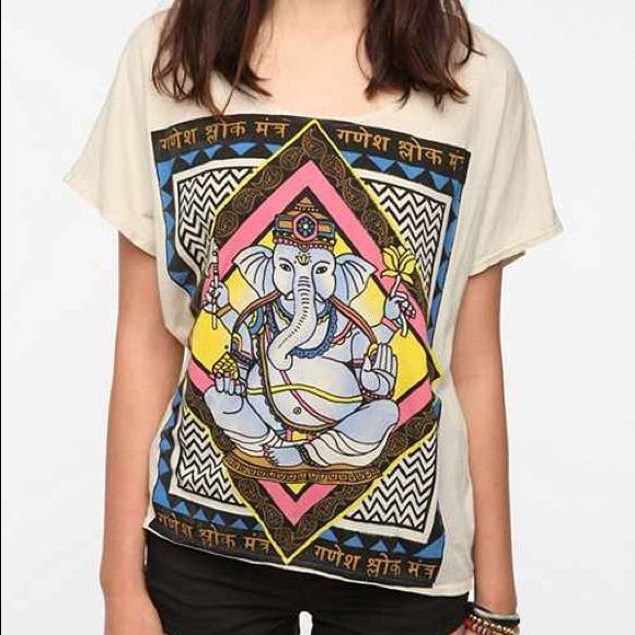 Discounts Online Printed Racerback Top - Ganesha Del Sol by VIDA VIDA Buy Cheap Affordable Cheap Sale Pay With Paypal vcRs4J1