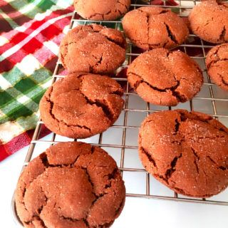 Best Ever Chewy Ginger Molasses Cookies
