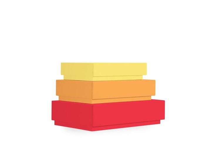 Lil'Gaea | Pyramid Box 6,5,4 SET | Çocuk Mobilyası