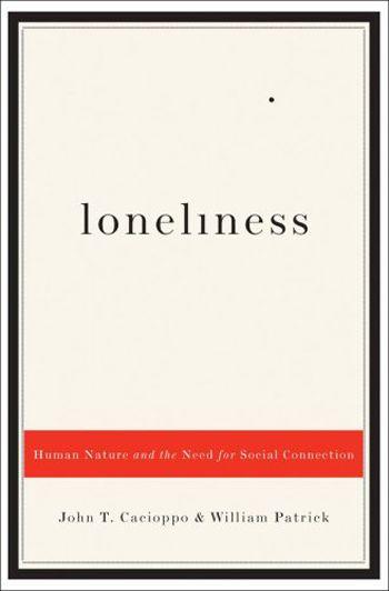 Loneliness book cover design