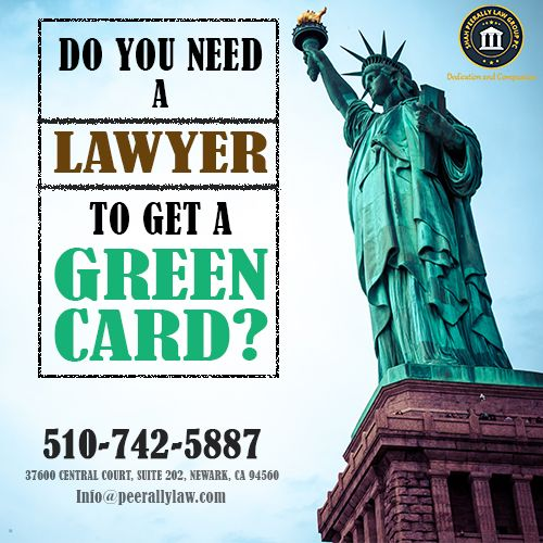 Do you need a Lawyer to get Green Card?