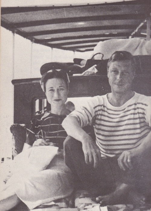 The Duke and Duchess of Windsor, Edward VIII and Wallis Simpson