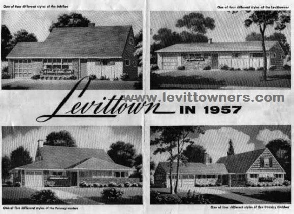 Levittown 1950s Color