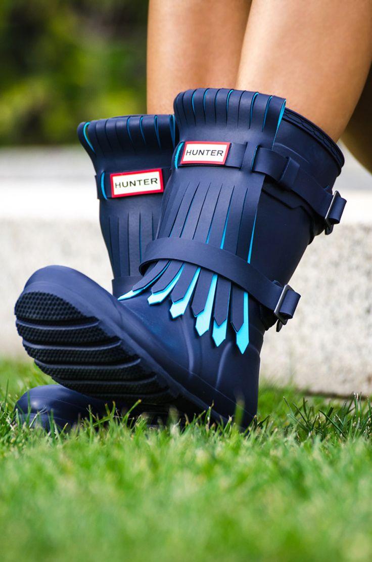 Botas de Lluvia Hunter / Hunter Wellington Boots - Blog Atenas Hernández