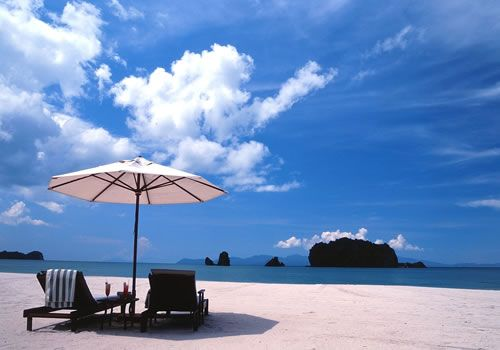 Another gorgeous beach in Malaysia - Tanjung Rhu Resort in Langkawi