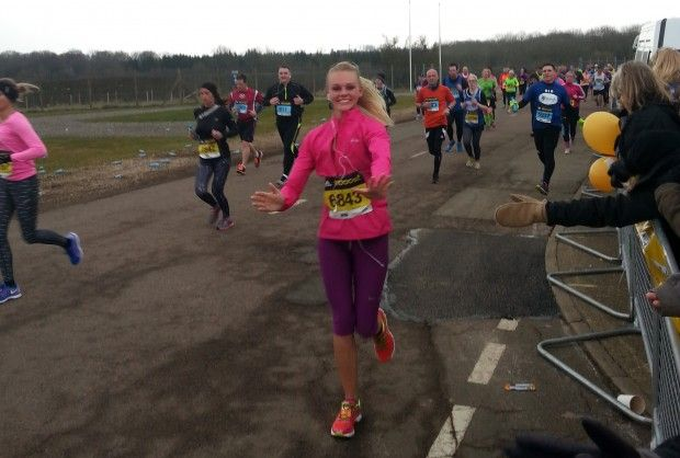 On 15th March 2015 Michelle Hamson took part in the Virgin Money Silverstone half marathon running for the charity Headway Brain Injury.