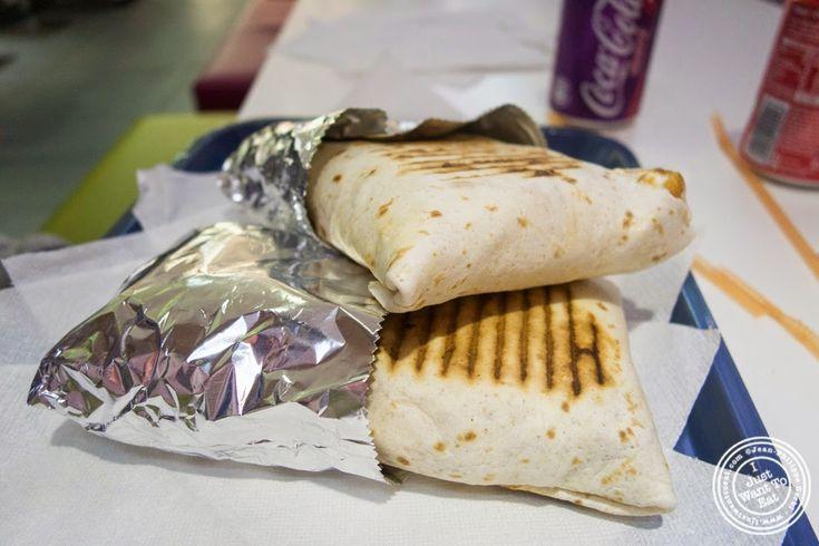 sandwiches at Le Tacos de Lyon in Grenoble, France