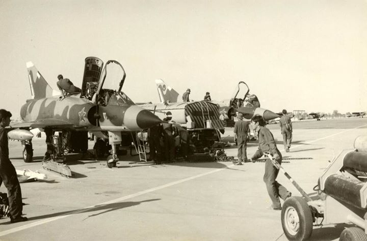 During the Cassinga strike, as the landing Mirage IIICZ aircraft taxied back into the hardstand and switched off, the ground crews, fitters, airframe and radio fitters, armourers, refuellers etc swarmed over the aircraft like ants for these aircraft were desperately required to continue with close-air-support operations until such time as the Airborne Brothers were extracted out of Cassinga by Helicopter. By Graham Du Toit‎