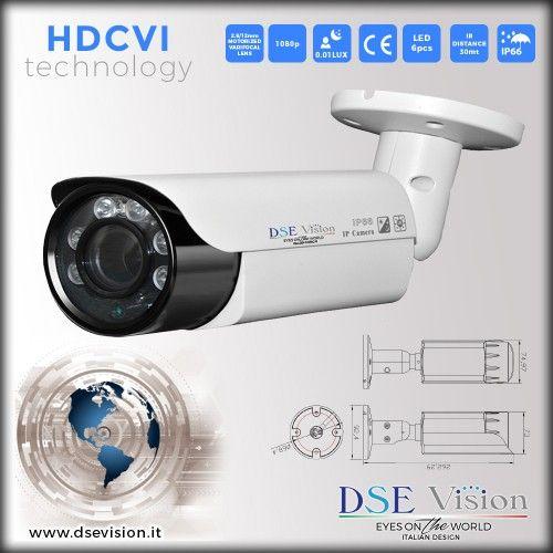 DS-GVMHD20MPH Telecamera a colori bullet varifocale ottica motorizzata 2.8/12mm IR impermeabile