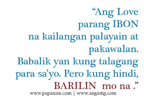 Tagalog Love Quotes – Relasyon Problem Quotes