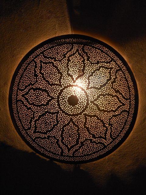 Moroccan Ceramic Wall Lights : 17 Best images about DECORATIE MAROKKO, Marokkanische Wandleuchte on Pinterest Moroccan decor ...