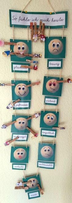As we all know, mood influences learning. Today I would like to present to you my emotional barometer to capture the emotions of the children …