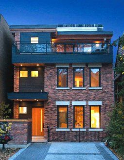 Old ideas and new technologies merge in eco-friendly Toronto infill | News | Ecohome