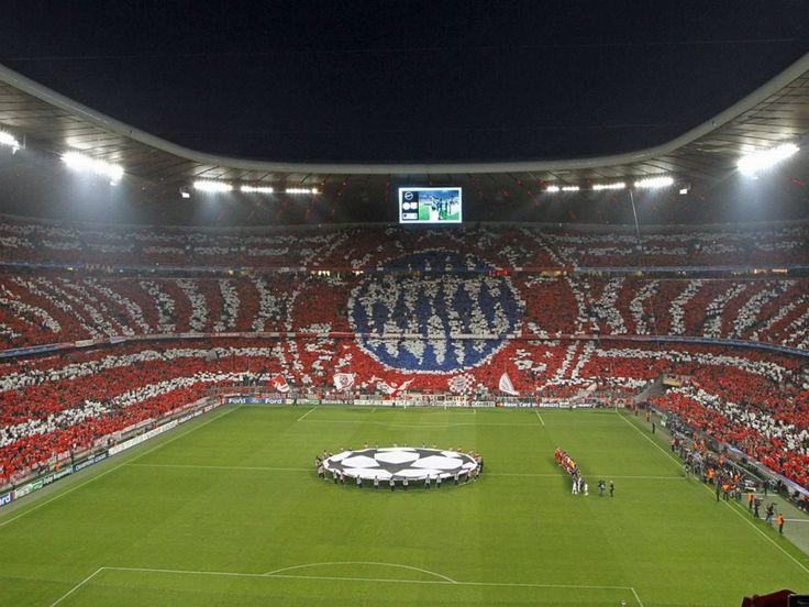 FC Bayern Munich inside Allianz Arena