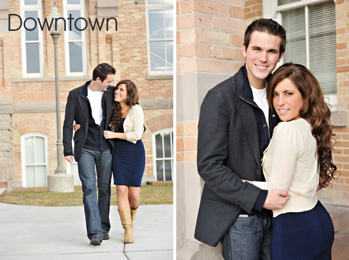 Tips on what to wear for engagement portraits divided up by location (i.e. beach, field, snow, downtown, ect.)