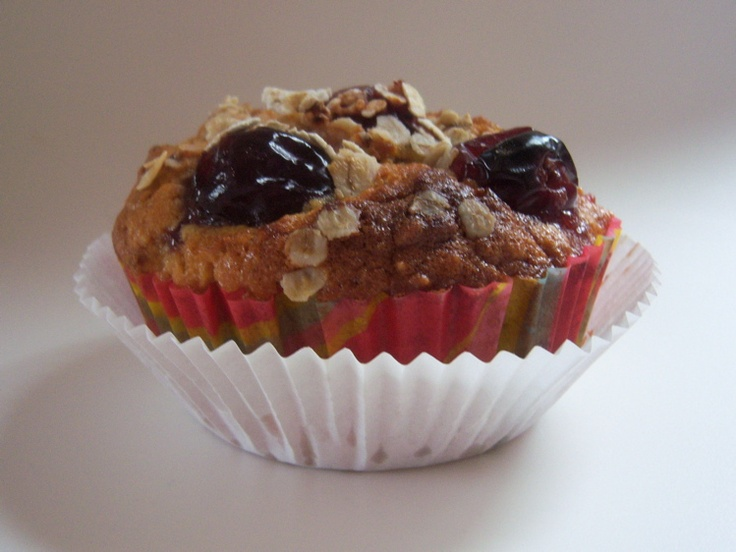 Jamie Oliver Lemon Yogurt Cake Recipe: Jamie Oliver's Cherry Oat Muffins