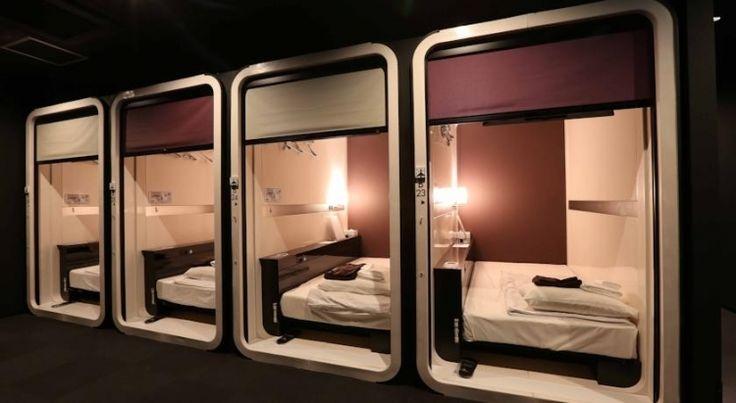 【福岡】カプセルホテルなのに素敵すぎ!おすすめホテル7選 - トラベルブック