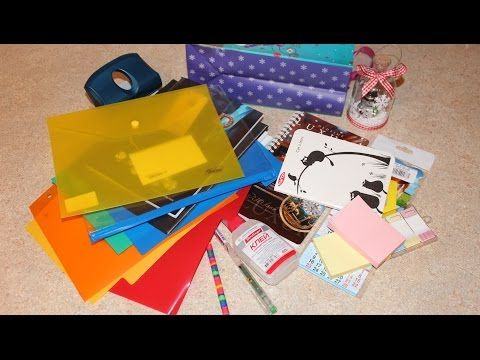Покупки канцелярии для создания персонального ежедневника-органайзера [level one]. - YouTube
