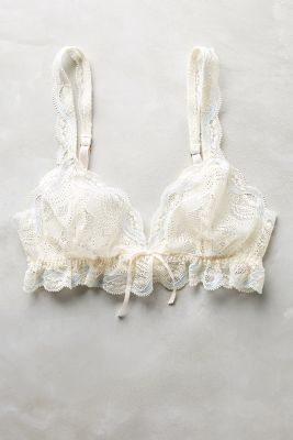 Eberjey Ruffled Bralette #anthrofave