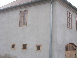 Dřevěná okna - vnější pohled