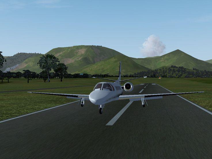 Simulasi Pesawat Flight Gear