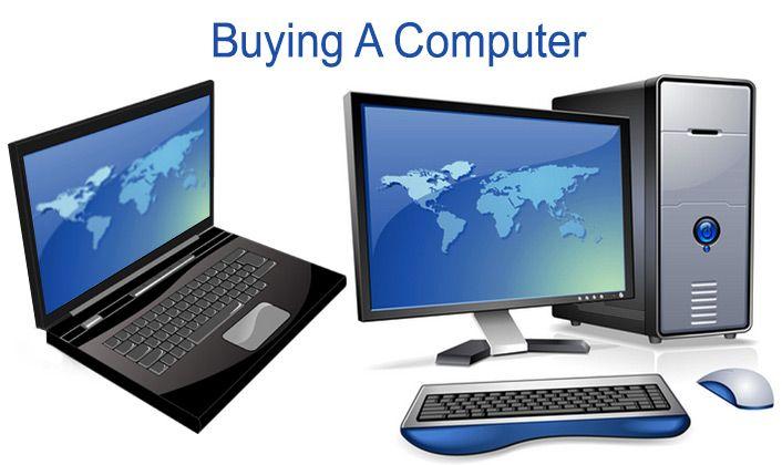 Buy a Computer Laptop and Desktop